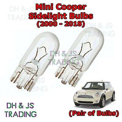 Fits Mini One D R50 Blue 4-LED Xenon Bright Side Light Beam Bulbs Pair Upgrade