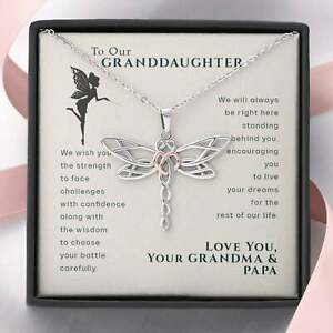 Imagine pendant with dragonfly