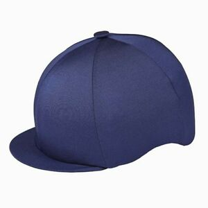 dbaed332e70 NAVY BLUE CAPZ RIDING HAT SILK COVER FOR JOCKEY SKULL CAPS ONE SIZE ...