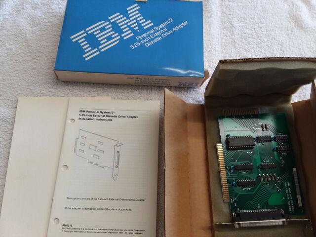 IBM 72X6757 5.25 EXTERNAL DISKETTE DRIVE ISA ADAPTER 90X8827 6450244