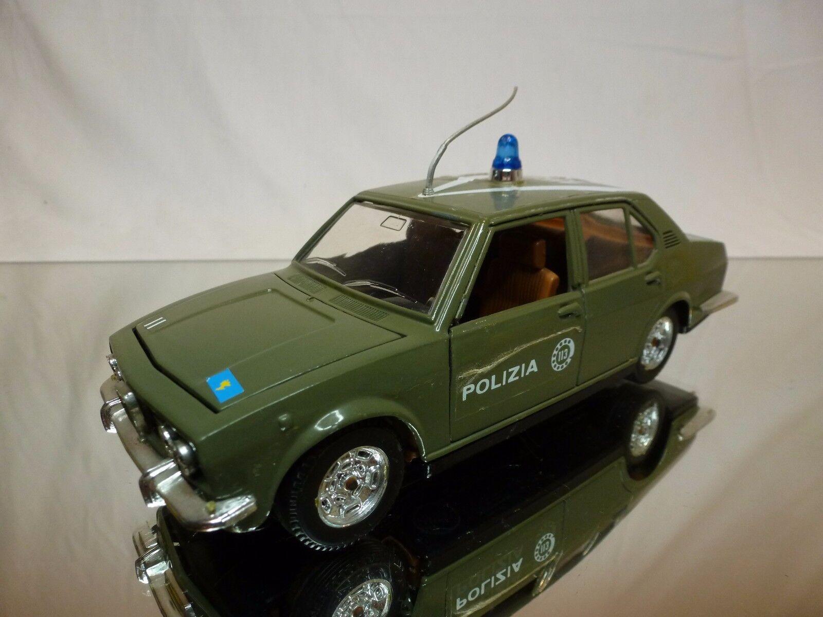 MEBETOYS 8583 ALFA ROMEO ALFETTA - POLIZIA POLICE - verde 1 25 - GOOD CONDITION