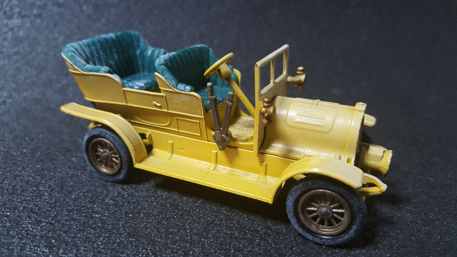 LESNEY 1904 Spyker MATCHBOX N16 diecast mini voiture super rare