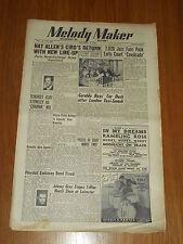 MELODY MAKER 1949 #804 JAN 1 JAZZ SWING NAT ALLEN GERALDO PLYDELL GONELLA HEATH