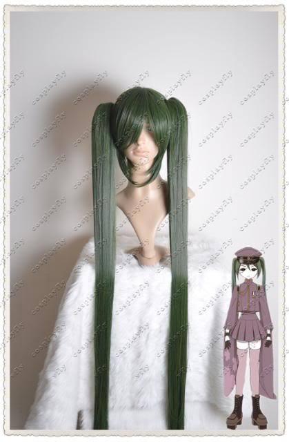 J0030 Vocaloid Miku Senbonzakura Cosplay Wig 1.2M With Wig Cap