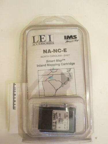 EAST -LOWRANCE SMART MAP NORTH CAROLINA NA-NC-E by LEI ACCESSORY #98-14