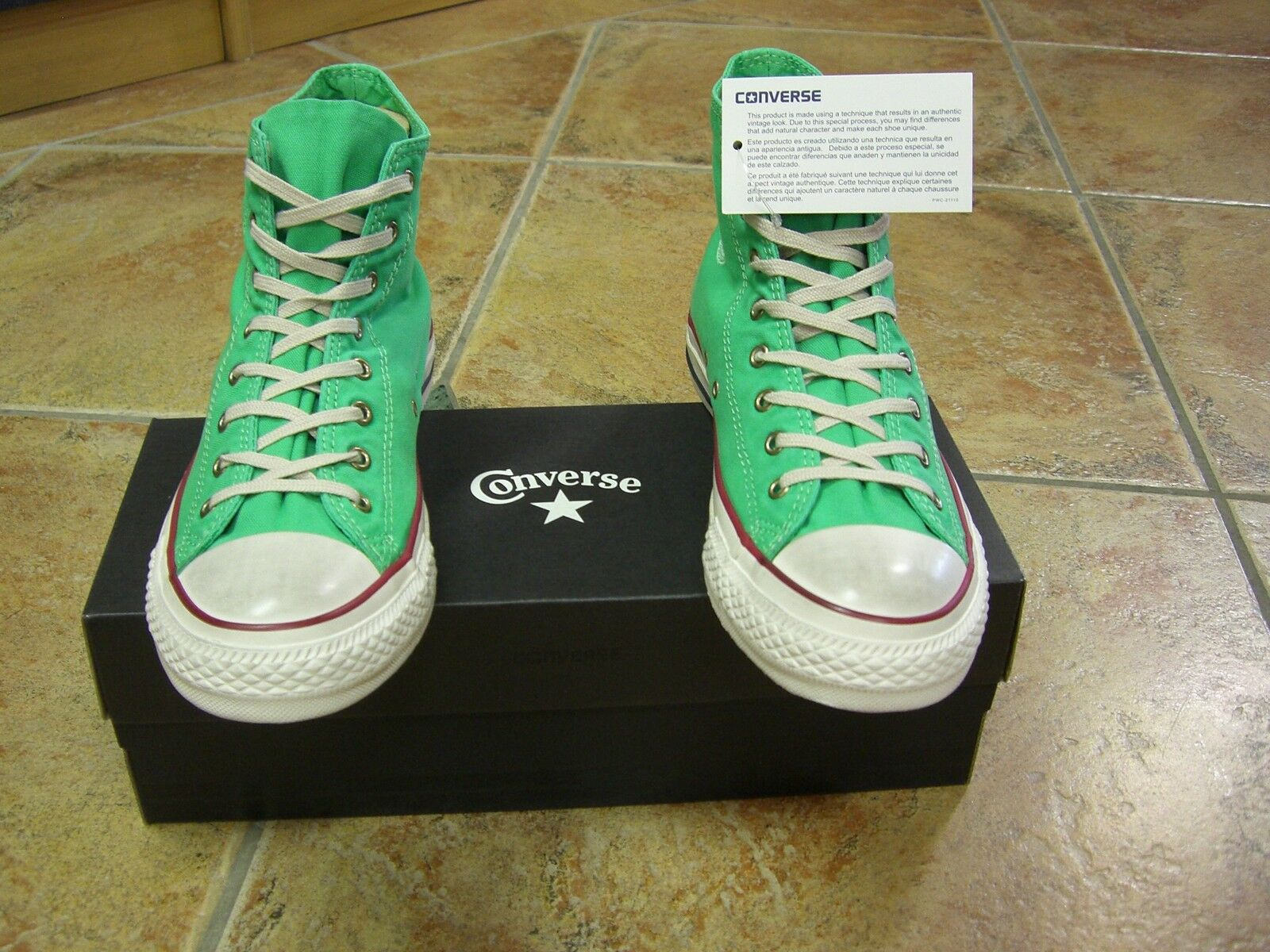 Converse Chucks All Star Gr. 37 HI DEEP MINT 136888C  NEU
