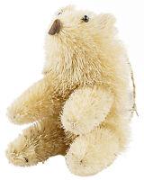 Grasslands Road Winter Wilderness Bottle Brush Animal Ornament, Brown Bear, 6-in