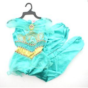 Details about Disguise Disney Princess Girls Kids Child Aladdin Jasmine  Halloween Costume