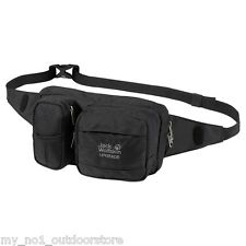 Jack Wolfskin Upgrade Travel Hip Belt Bum Bag - Black
