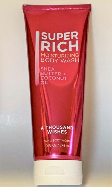 e95f6e59b45c8 Bath   Body Works a Thousand Wishes Super Rich Moisturizing Wash Shower GEL  10oz