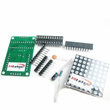 MAX7219 Dot Matrix Module DIY kit Display Common Cathode Red LED for Arduino