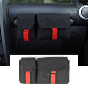 Co-Pilot Storage Bag Sundries Organizer For Jeep Wrangler TJ JK JL Accessories