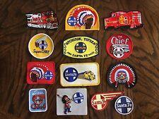13 assorted NEW Santa Fe Railroad ( ATSF)  patches