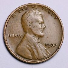 1933 Lincoln Wheat Cent Penny LOWEST Prices on The Bay