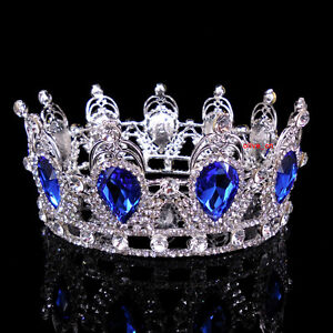 6cm-High-Sapphire-Blue-Sparkling-Full-Crystal-Crown-Wedding-Prom-Party-Pageant