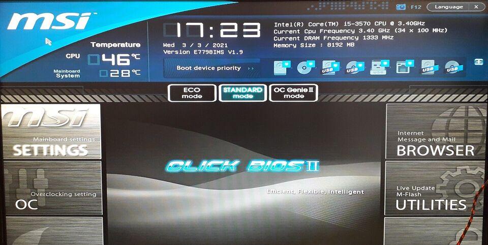 CPU / processor, Intel, i5 3570
