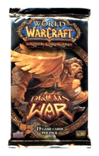 Booster Pack x 1 Warcraft The Red Bearon Loot? Drums of War