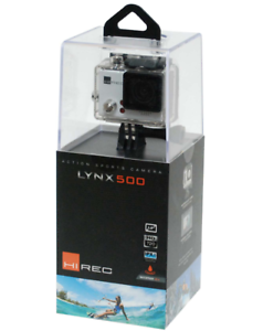 HiRec-Lynx-500-Action-Sports-Camera-with-5-megapixel-USB-Display-White