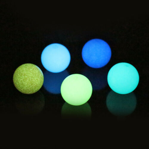 10Pcs Luminous Stone Beads Glow In The Dark DIY Beads Necklace Bracelet Jewelry
