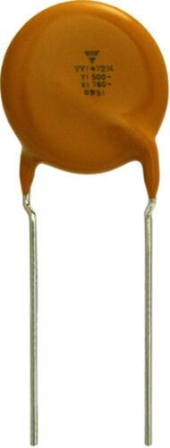 Stock 10 Condensatori Ceramici a Disco 220pF 50V