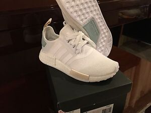 gtkeco Adidas NMD R1 All White 11 - 6 olive green suede pink peach ultra