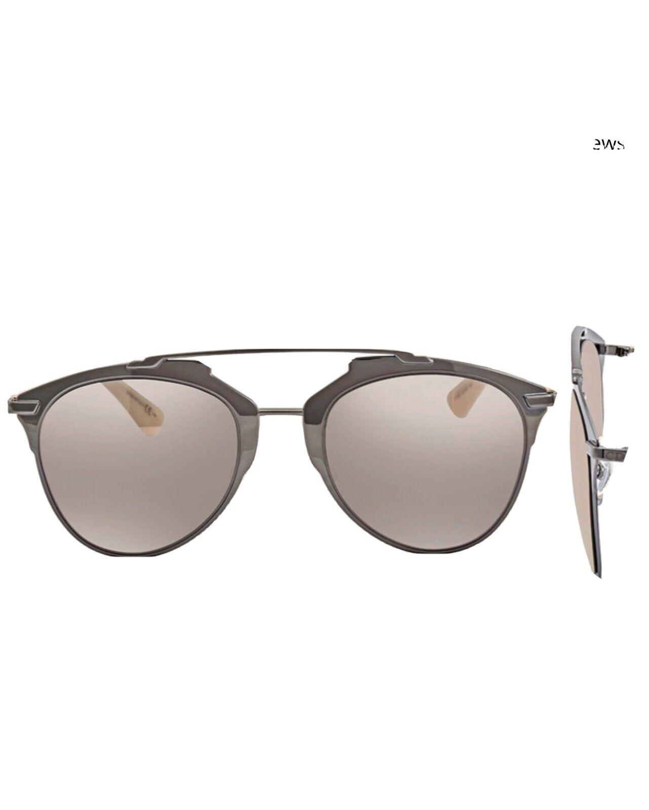 Dior Pink Aviator Ladies Sunglasses Diorreflective Mirrored Nwot