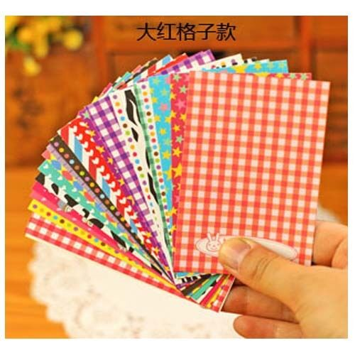 20X Polaroid Film Skin Decorative Washi Masking Photo Stickers Scrapbook Albums