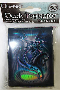 Ultra-Pro-Navy-Blue-Monte-Dragon-Deck-Protector-Standard-Size-Card-Sleeves-50ct