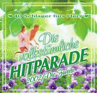 Die Volkstümliche Hitparade 2002 / Die Zweite Doppel CD 40 Schlager fürs Herz