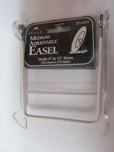 Tripar 4040 Adjustable Easel Acrylic Display Stand EBay Fascinating Adjustable Acrylic Display Stands
