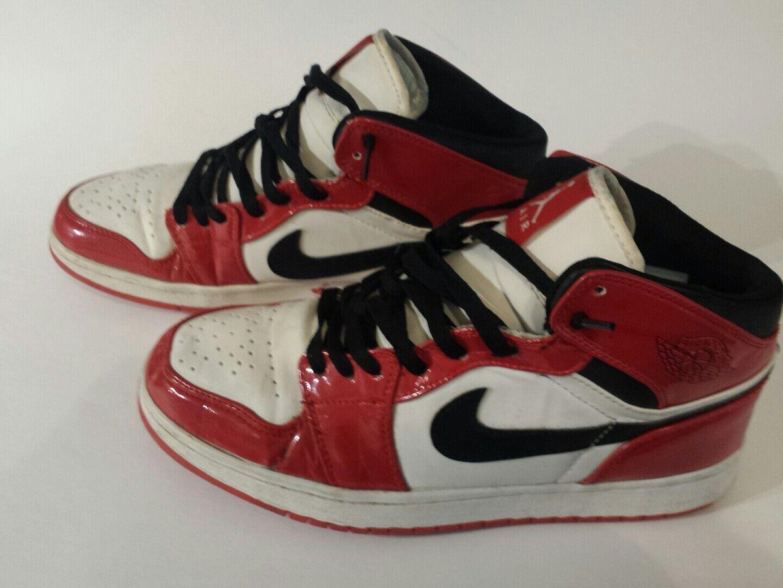 Nike Air Jordan Original Sneakers Size 10.5  Black, Black, Black, Red ,White 4aa135