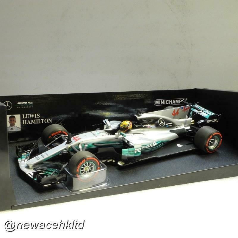 Mercedes AMG Petronas F1 W08 Eq Power W08 MEXICAN GP 2017 Minichamps Modelo 1 18