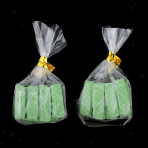 Dollhouse-Miniature-Food-Bakery-1-12-Chocolate-Sandwich-Cookies-Matcha-Green