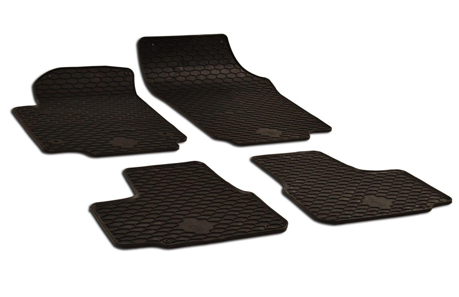 Gummimatten Gummi Fußmatten für VW Sharan 2 II 7N ab 2010 Original Qualität