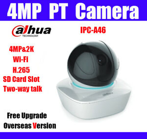 Details about Dahua IPC-A46 4MP WiFi H 265 PanTilt Camera 2 Way Talk Cloud  Storage Smart Track