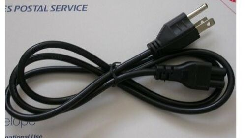 Casio DATA PROJECTOR XJ-A142 XJ-M141 XJ-A235V AC power supply cord cable charger