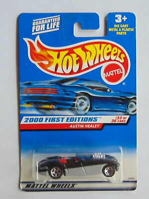 Hot Wheels 2000-092 First Edition 32//36 Austin Healey 1:64 Scale