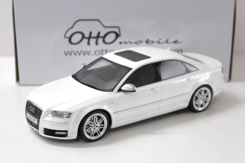 1:18 Otto audi a8 s8 d3 White 2008 New en Premium-modelcars