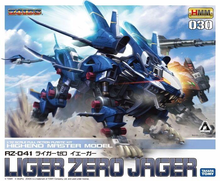 Kotobukiya Hmm 030 Zoids RZ-041  Liger Zero Jager 1 72 modellolololo Plastica Kit nuovo  stile classico