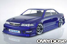 OVERDOSE 1/10 RC TOYOTA JZX100 MarkⅡ Clear Body Drift Pandora Yokomo D-like