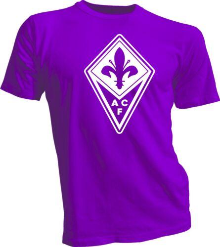 ACF FIORENTINA Italie Calcio Football Soccer T-shirt Maglietta UEFA Europe 1 NEUF