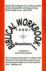 Biblical Workbook I: 1300+ Questions by Writers Club Press (Paperback / softback, 2001)