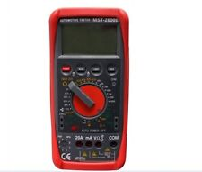 Professional Digital Tachometer meter Tach Dwell Tester Multimeter