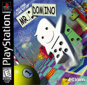 No One Can Stop Mr. Domino PS1 Great Condition Fast Shipping