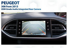Peugeot 308 Allure Active OEM Grade Reverse Rear Camera Retrofit Upgrade Kit
