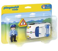 PLAYMOBIL Police Car, NEW and MINT!