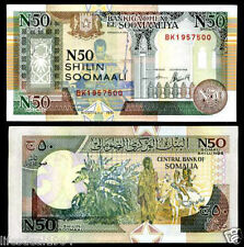 SOMALIA 50 SHILLING UNC BANKNOTE for note coin collectot L-28