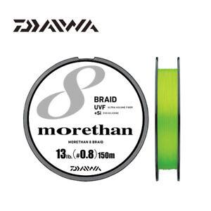 Daiwa Emeraldas 8 Braid Line 150M Lime Color Super PE Braided Fishing Line