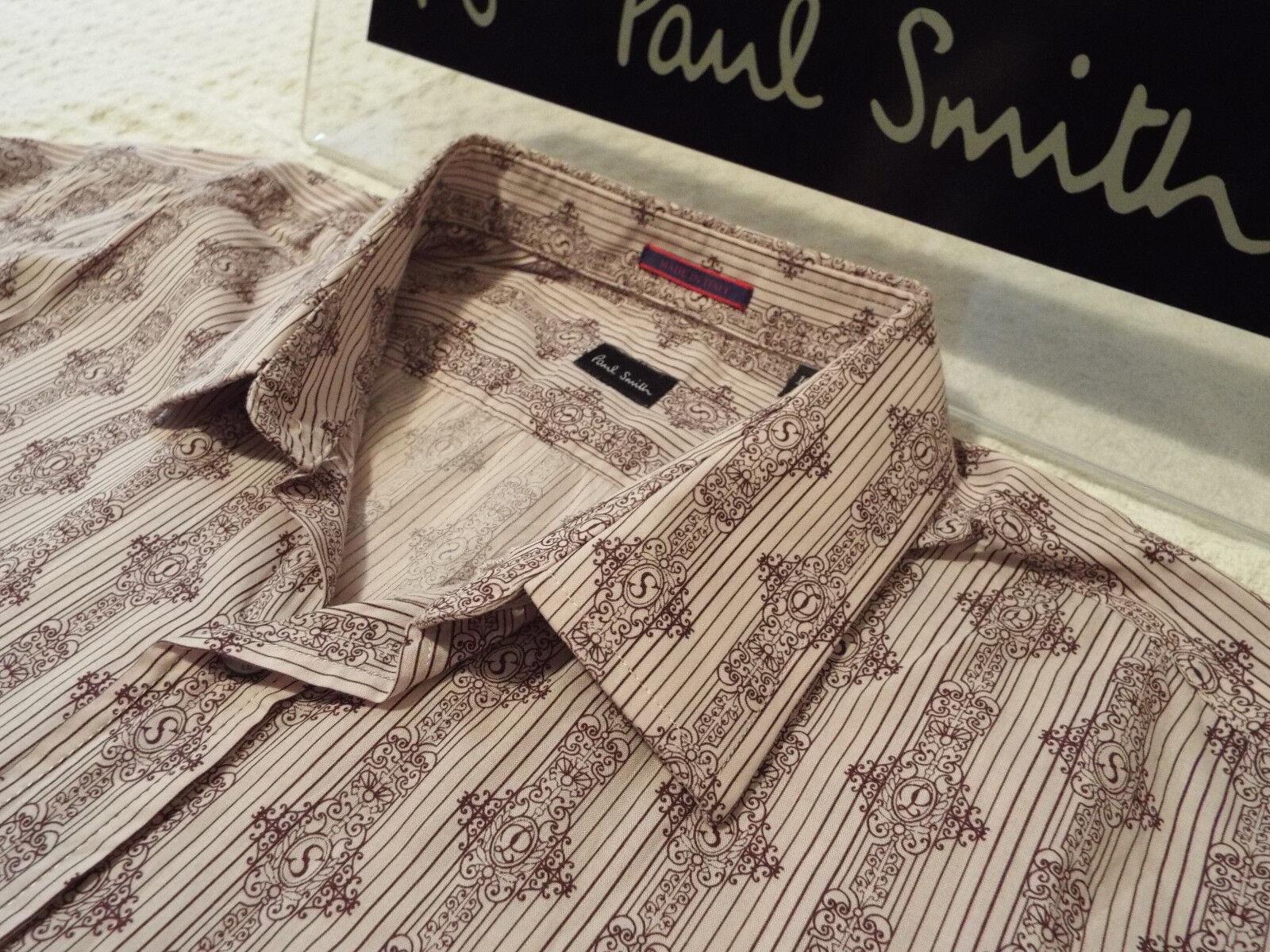 PAUL SMITH Mens Shirt  Size 16.5