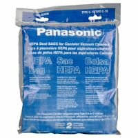 Panasonic Mc-v295h 2-pack Type C-19 Canister Hepa Vacuum Bag , New, Free Shippin on sale